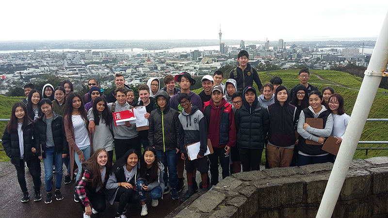 IGCSE Geography Students Collect Data - News - Macleans College