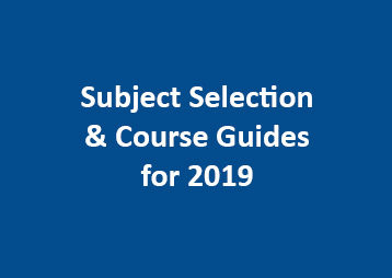 Subject Selection Course Guides 2019