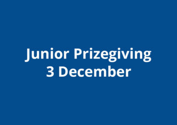 Junior Prizegiving 2019