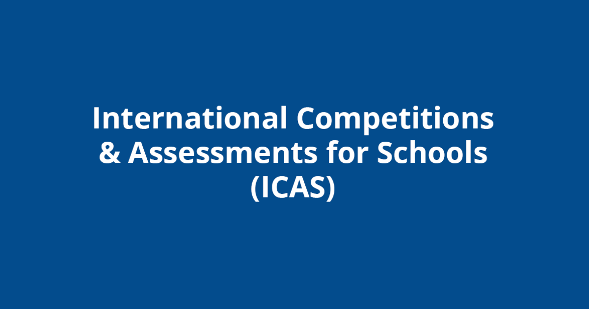 International Competitions and Assessments for Schools (ICAS