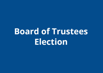 Board Of Trustees Election