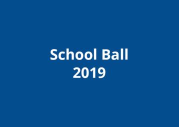School Ball 2019