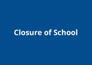 Closure Of School 2020