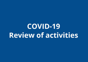 Covid 19 Review Of Activities