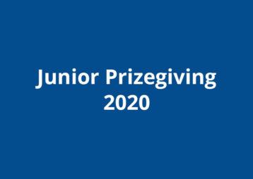 Junior Prizegiving 2020