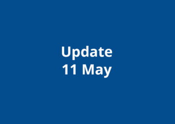 Update 11 May