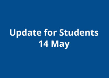 Update For Students 14 May