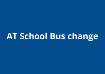 At school bus change
