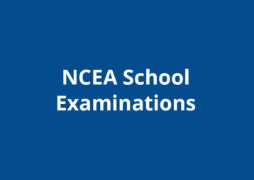 Ncea school exams