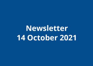 Newsletter 14 october 2021