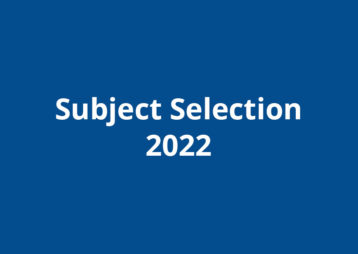 Subject selection 2022