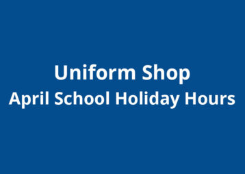 Uniform shop april school holiday hours
